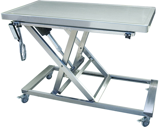 Animal Lift Table With Scale : Mobile lift tristar vet