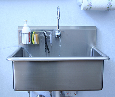 TriStar Vet blog: Shopping for a new veterinary scrub sink? Our 5-point checklist makes it easy to compare models and choose the ideal style for your practice.