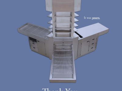 TriStar Vet ad for veterinary equipment: Stainless Steel Y Column