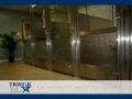 TriStar Vet kennel photo: The lower panel of these kennel doors features rain glass for privacy