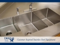 TriStar Vet treatment equipment photo: Choose the stainless steel sink configuration for your needs