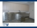TriStar Vet treatment equipment photo: Our stainless steel cabinets are ideal for dental procedures