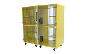 Cat Condos Powder Coated Double