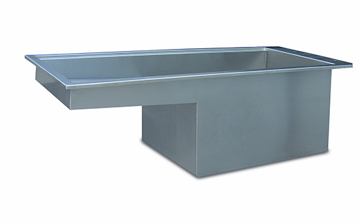 Stainless Steel Grate Inserts For Veterinary Bath Tubs