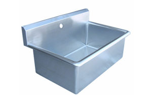 Single Scrub Sink for Veterinary Surgery Prep