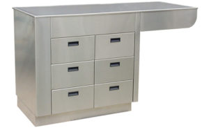 Veterinary Exam 6 Drawer Cabinet