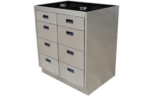 Lower 8 Drawer