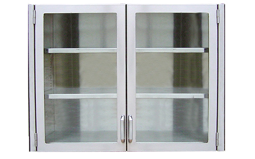 Your Choice: Stainless Steel Upper Veterinary Medical Cabinet Options For Supply  Storage Your Way