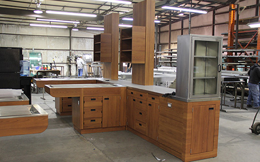 Take your veterinary treatment and exam room equipment from ho-hum to oh, wow with TriStar Vet wood-grain treatment cabinet styles