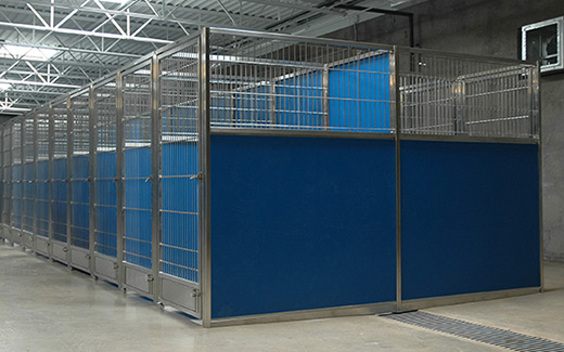 Dog Kennels With Aluminium