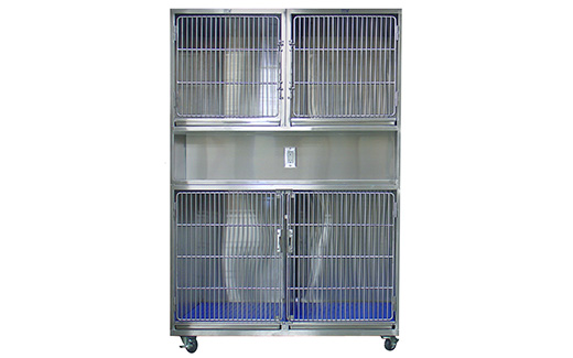 TriStar Vet cages for Veterinary Mobile ICU Recovery assist you in caring for pets that need a quiet, safe and sanitary environment.