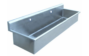 Double Scrub Sink for Veterinary Surgery Prep