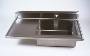 Veterinary Scrub Sink w/Counter Top