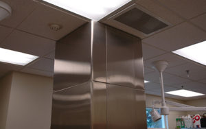 Veterinary Treatment Column Extension